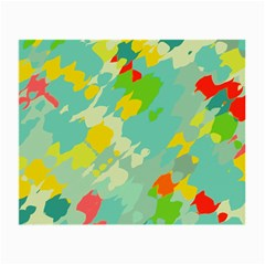 Smudged Shapes Glasses Cloth (small)