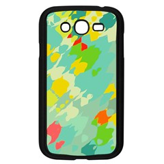 Smudged Shapes Samsung Galaxy Grand Duos I9082 Case (black) by LalyLauraFLM
