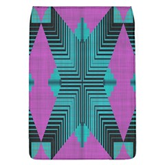 Tribal Purple Rhombus Removable Flap Cover (large) by LalyLauraFLM