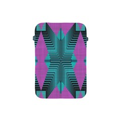 Tribal Purple Rhombus Apple Ipad Mini Protective Soft Case by LalyLauraFLM