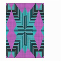 Tribal Purple Rhombus Small Garden Flag by LalyLauraFLM