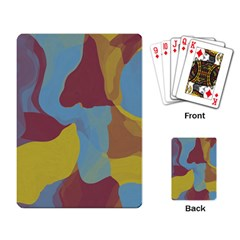 Watercolors Playing Cards Single Design
