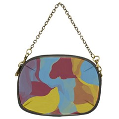 Watercolors Chain Purse (two Sides) by LalyLauraFLM