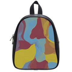 Watercolors School Bag (small)