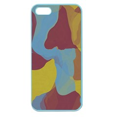 Watercolors Apple Seamless Iphone 5 Case (color) by LalyLauraFLM