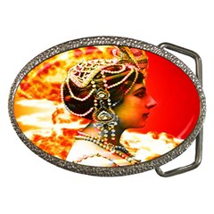 Mata Hari Belt Buckle by icarusismartdesigns