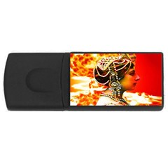 Mata Hari Usb Flash Drive Rectangular (4 Gb) by icarusismartdesigns
