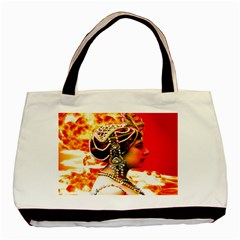 Mata Hari Basic Tote Bag by icarusismartdesigns