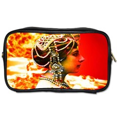 Mata Hari Toiletries Bag (one Side) by icarusismartdesigns