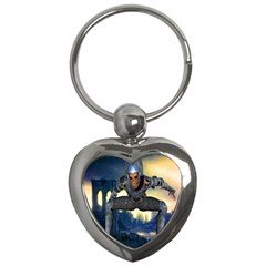 Wasteland Key Chain (heart) by icarusismartdesigns