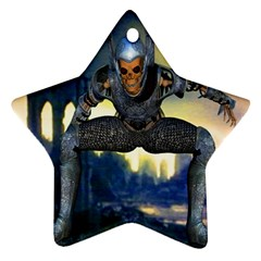 Wasteland Star Ornament (two Sides)
