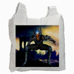 Wasteland White Reusable Bag (two Sides)
