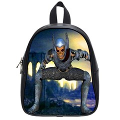 Wasteland School Bag (small) by icarusismartdesigns