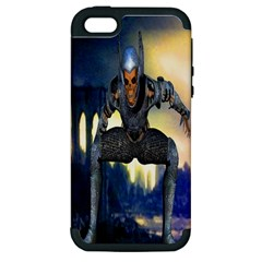 Wasteland Apple Iphone 5 Hardshell Case (pc+silicone) by icarusismartdesigns