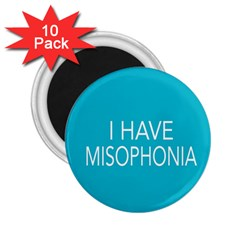 Misophonia Awareness 2 25  Button Magnet (10 Pack)