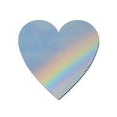 Rainbow Magnet (heart) by yoursparklingshop
