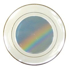 Rainbow Porcelain Display Plate by yoursparklingshop