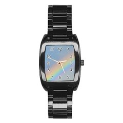 Rainbow Stainless Steel Barrel Watch by yoursparklingshop