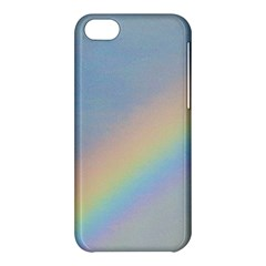 Rainbow Apple Iphone 5c Hardshell Case by yoursparklingshop
