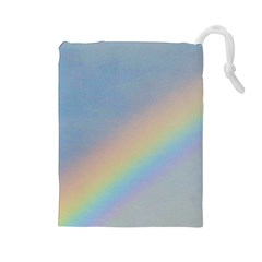 Rainbow Drawstring Pouch (large) by yoursparklingshop