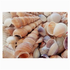 Seashells 3000 4000 Glasses Cloth (large) by yoursparklingshop