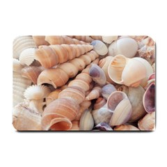 Seashells 3000 4000 Small Door Mat by yoursparklingshop