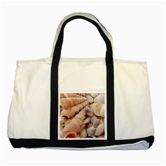 Sea Shells Two Toned Tote Bag by yoursparklingshop