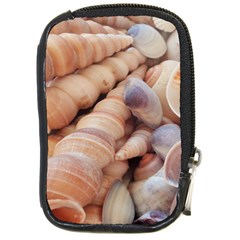 Sea Shells Compact Camera Leather Case