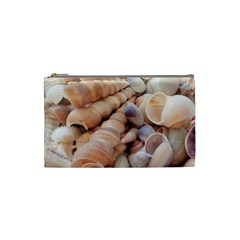 Sea Shells Cosmetic Bag (small) by yoursparklingshop