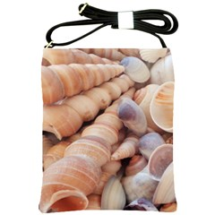 Sea Shells Shoulder Sling Bag by yoursparklingshop