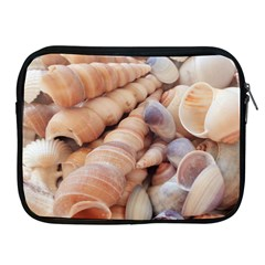 Sea Shells Apple Ipad Zippered Sleeve by yoursparklingshop