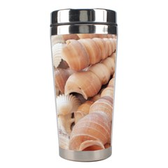 Sea Shells Stainless Steel Travel Tumbler by yoursparklingshop