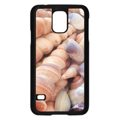 Sea Shells Samsung Galaxy S5 Case (black) by yoursparklingshop