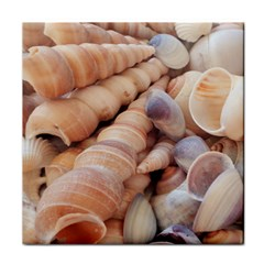 Sea Shells Ceramic Tile by yoursparklingshop
