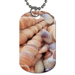 Sea Shells Dog Tag (two Sided)  by yoursparklingshop