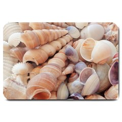 Sea Shells Large Door Mat by yoursparklingshop