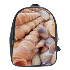 Sea Shells School Bag (large) by yoursparklingshop