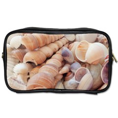 Sea Shells Travel Toiletry Bag (one Side)