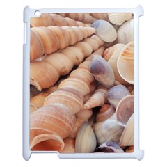 Sea Shells Apple Ipad 2 Case (white) by yoursparklingshop