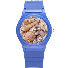 Sea Shells Plastic Sport Watch (small) by yoursparklingshop