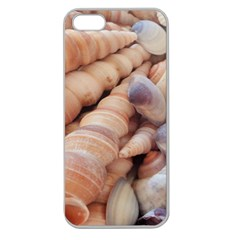 Sea Shells Apple Seamless Iphone 5 Case (clear) by yoursparklingshop
