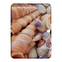 Sea Shells Samsung Galaxy Tab 4 (10 1 ) Hardshell Case  by yoursparklingshop