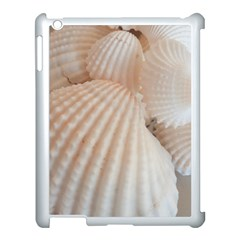 Sunny White Seashells Apple Ipad 3/4 Case (white) by yoursparklingshop