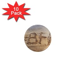 #bff 1  Mini Button Magnet (10 Pack)