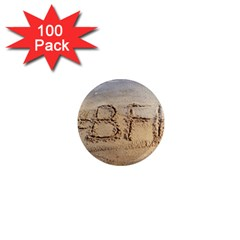 #bff 1  Mini Button Magnet (100 Pack)