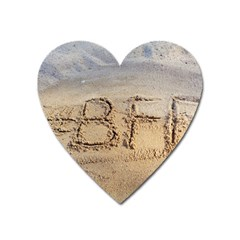 #bff Magnet (heart) by yoursparklingshop