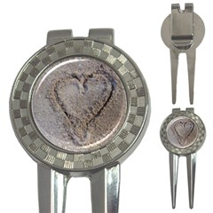 Heart In The Sand Golf Pitchfork & Ball Marker