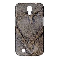 Heart In The Sand Samsung Galaxy Mega 6 3  I9200 Hardshell Case by yoursparklingshop