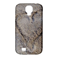 Heart In The Sand Samsung Galaxy S4 Classic Hardshell Case (pc+silicone) by yoursparklingshop