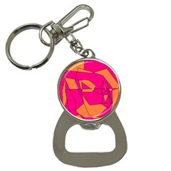 Red Orange 5000 Bottle Opener Key Chain by yoursparklingshop
